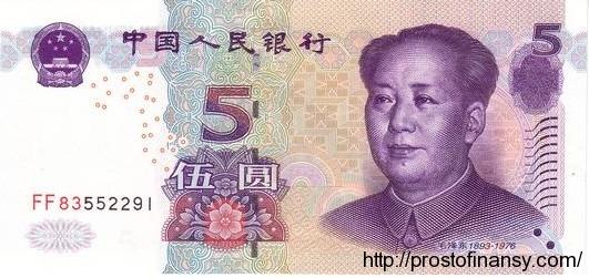5 юаней 2005 года