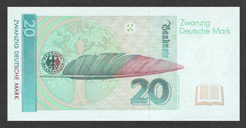 20 немецких марок