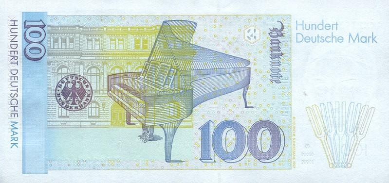100 немецких марок