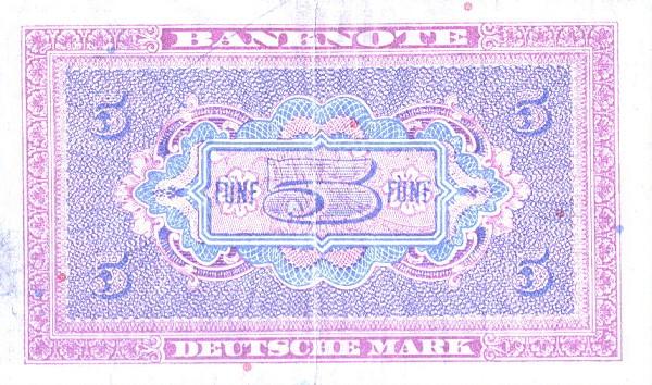 5 марок фрг 1948