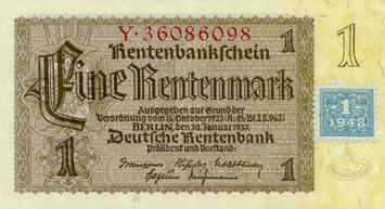 1 марка гдр 1948