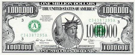1.000.000 долларов 1996 года