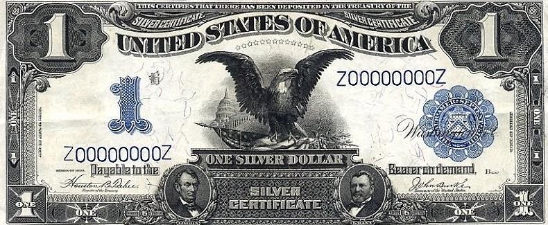 Один доллар 1899 года