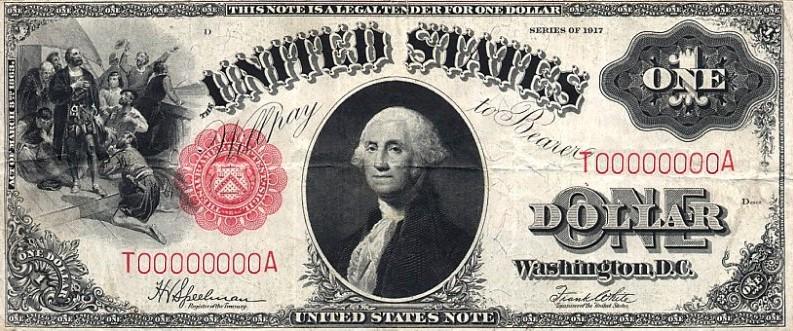 Один доллар 1917 года