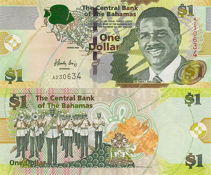 Багамы, 1 багамский доллар