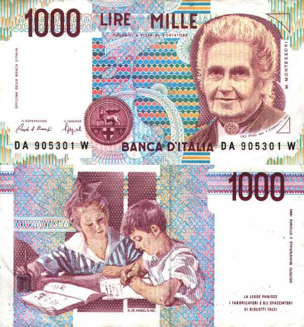 Итальянская лира