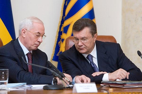 Янукович обсудил с Азаровым риски от ассоциации Украины с ЕС