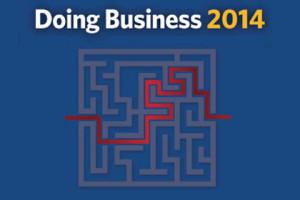 Украина поднялась на 112-е место в рейтинге Doing Business 2014