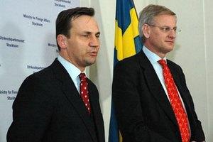 Сикорский и Бильдт отемнили планы из-за срочной встречи с Януковичем