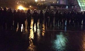 «Беркут» захватил Майдан Независимости