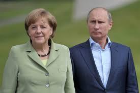 Меркель обвинила Россию в политическом давлении на Украину