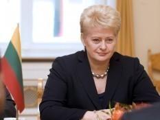 Грибаускайте уверяет, что ЕС поможет Украине получить кредит МВФ