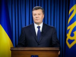 Виктор Янукович обратился к народу с видеообращением