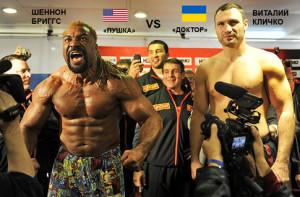 BOXING-WBC-UKR-USA-KLITSCHKO-BRIGGS