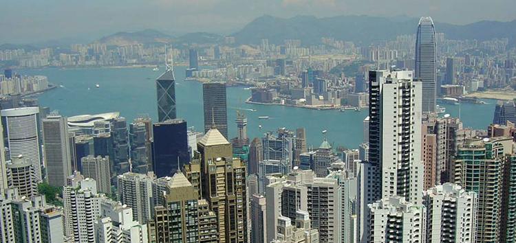 Гонконг - одна из финансовых столиц мира