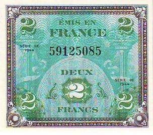 2 франка 1944 г.