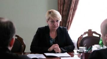 Глава НБУ В. Гонтарева