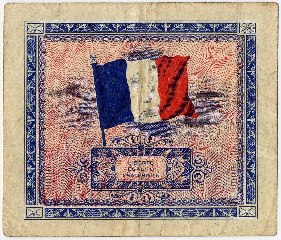 Реверс военного франка 1944 г.