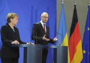 Глава Кабмина ведет переговоры в Берлине