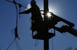 Отключение электроэнергии в Донецке