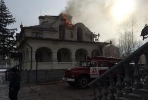 Обстрел храма в Горловке