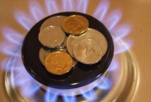 Рост цен на газ Украина