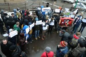 Студентов в Питере принудили к митингу