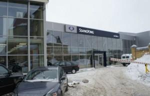 SsangYong прекратил поставки в РФ