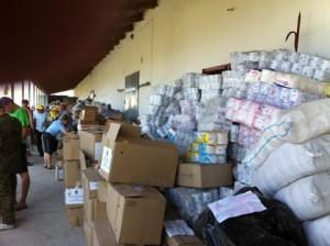 На Донбасс привезли гуманитарную помощь с семенами