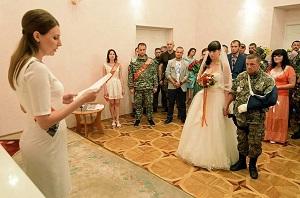 Свадьба в ДНР