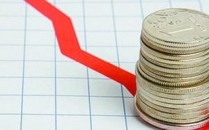 За прошлый год ВВП Украины упал на 7%