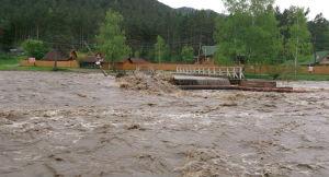 В Алтайском крае наводнение