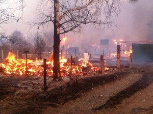 хакасия пожар фото