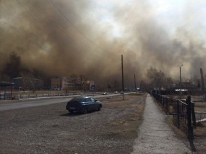 пожар в хакассии