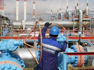 Газпром снижает объемы  добычи газа