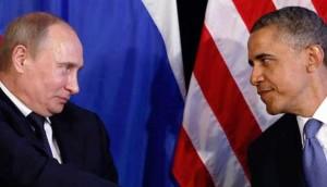 Обама и Путин