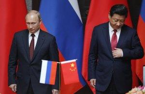 Putin and Xi in Shanghai
