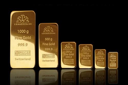 Золото в слитках в Украине