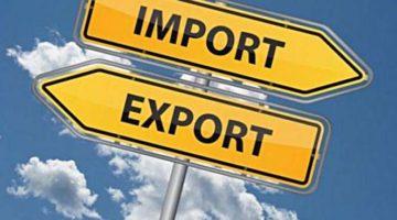 Украина снизила экспорт товаров и услуг в четыре раза