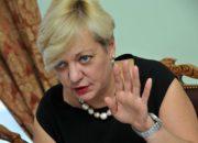 Гонтарева уйдёт в отставку не раньше осени