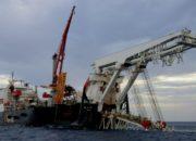 Россия начала закладку морской части «Турецкого потока»