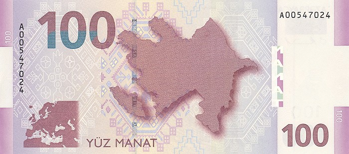 100 манат