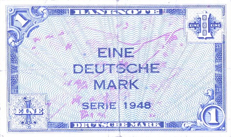 1 марка ФРГ 1948
