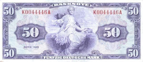 50 марок фрг 1948