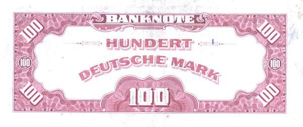 100 марок фрг 1948