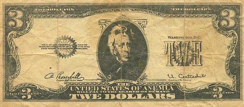 Три доллара 1974 года