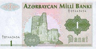 Азербайджанский манат. Деньги независимого Азербайджана