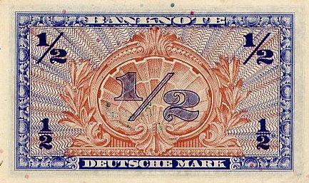 Марка ФРГ 1948 года