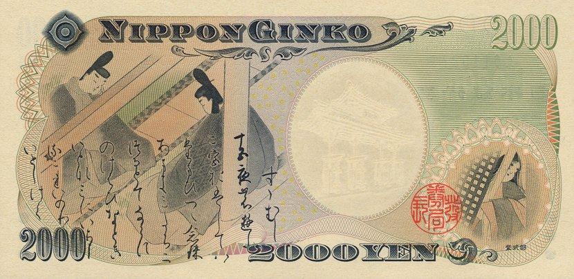 Современная японская иена