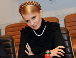 Prime Minister of Ukraine, Yulia Tymoshenko